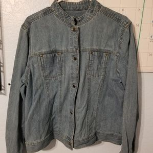 Liz Claiborne Denim Jacket XL